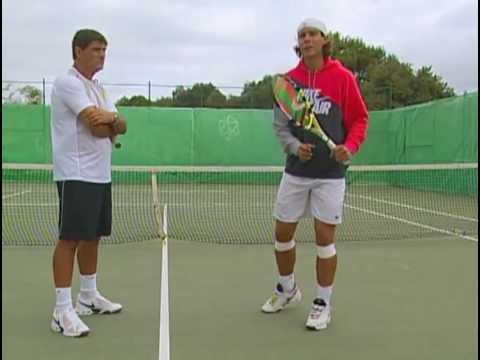Rafael Nadal Half Volley Lessons Youtube