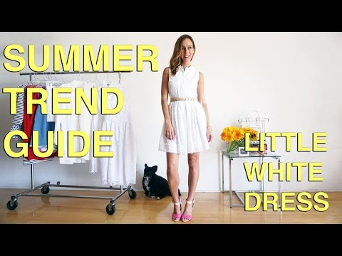 How to Wear the Little White Dress I Summer Trend Guide