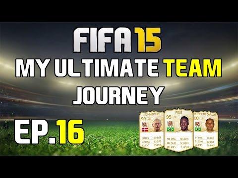 FIFA 15 LIVESTREAM - My Ultimate Team Journey - Ep.16 - NEW TEAM