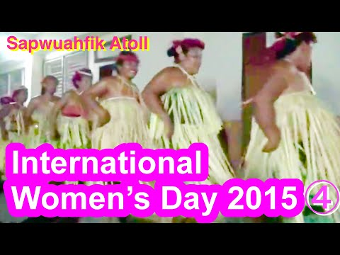 The International Women's Day on Sapwuahfik Atoll, Micronesia, 2015 (1)