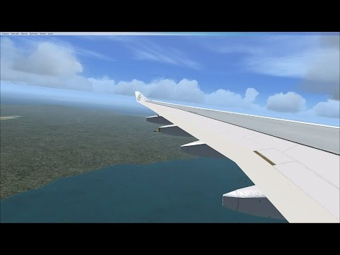 Airbus A330-300, Departing from Faisalabad to Lahore Airport - Microsoft Flight Simulator X