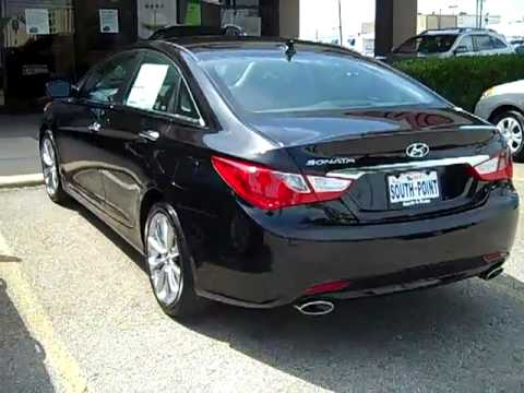 2011 hyundai sonata se phantom black for sale sold youtube