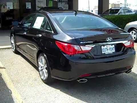 2011 Hyundai Sonata Se Phantom Black For Sale Sold Youtube
