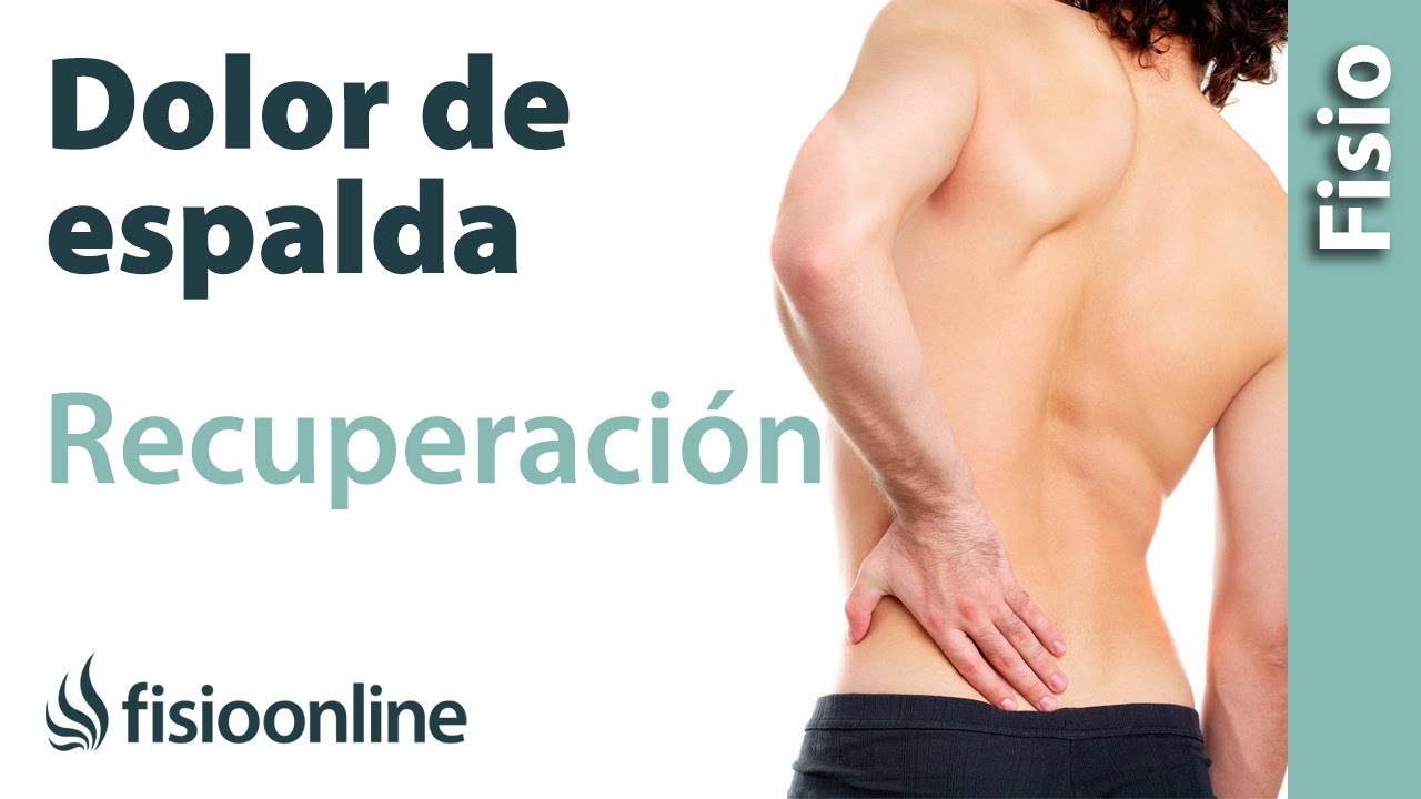 Ejercicio de fortalecimiento para los músculos lumbares para mejorar los  dolores de espalda - YouTube fad141353855
