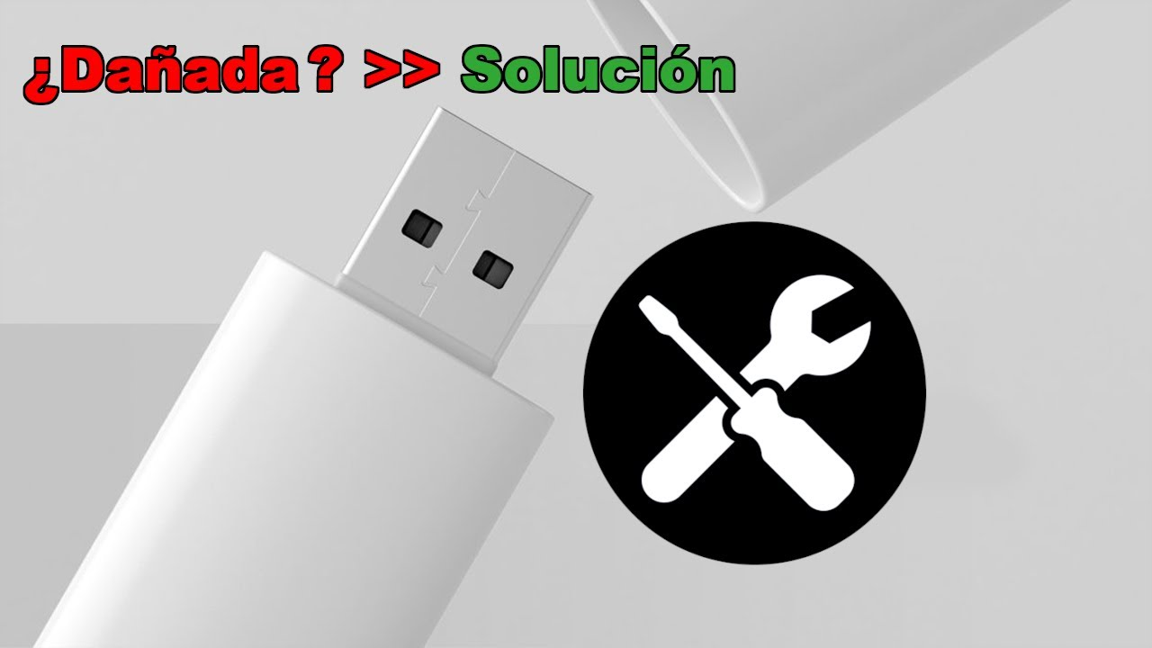 c mo reparar una memoria usb o pendrive da ada o no se puede abrir youtube. Black Bedroom Furniture Sets. Home Design Ideas