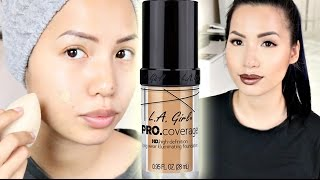 REVIEW | LA GIRL PRO COVERAGE HD LONG WEAR ILLUMINATING FOUNDATION