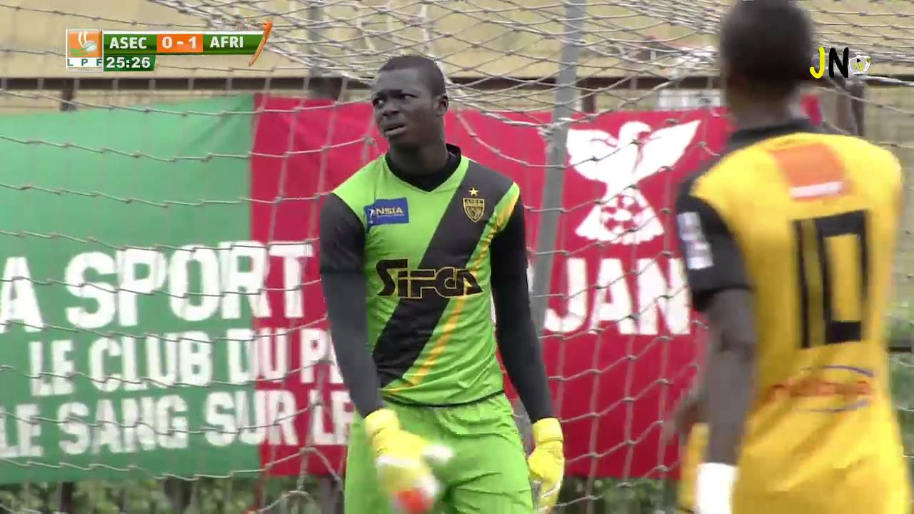15ème journée de la Ligue  1 ASEC Mimosas - Africa Sports