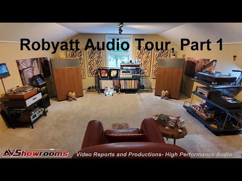 Robyatt Audio Company Tour Pt. 1, The Studio, Featuring Klipschorn AK6s, Tektron, Miyajima Labs