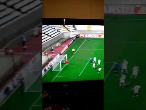 Gol assurdo di Faupala ~ Apollon Limassol-Lazio 2-0 ~