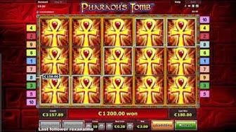 Pharaoh`s Tomb - Super Mega Win  - Jackpot