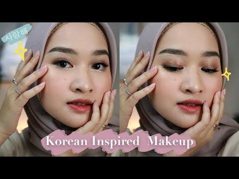 Korean Inspired Makeup Tutorial | Kiara Leswara