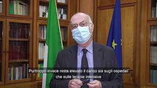 Monitoraggio settimanale Covid-19, il commento di Gianni Rezza al report 5 aprile - 11 aprile 2021