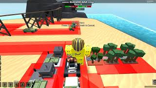 Roblox Tower Battles | Zed and Patrol VS Mercenary and Commando
