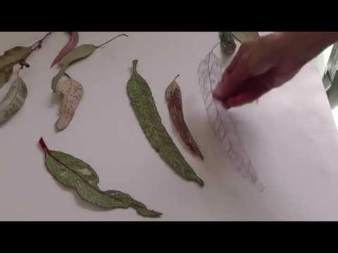 Textile Leaf Bookmarks with Deborah Wirsu