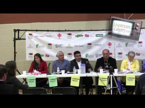 Ward 11 & 13, 12 & 14 Calgary Election School Board Trustee Forums 2013