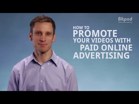 How to promote your videos with paid online advertising - Video marketing for business #12