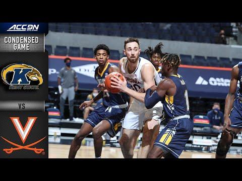 Kent State vs. Virginia Cavaliers Condensed Game   2020-21 ACC Men's Basketball  