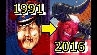 【歴代ストII】悪の組織シャドルーの総帥 ベガの進化 STREET FIGHTER-evolution-