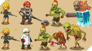 ЗОМБИ против ЛЮДЕЙ - игра Human vs Zombies: a zombie defense game. Зомби апокалипсис