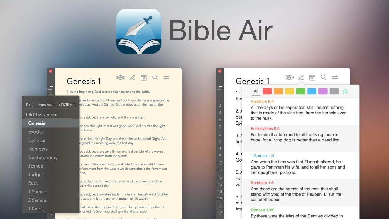 Bible Air | Offline Bible App with 28 Bible Version | Inspiring-Life  Technologies