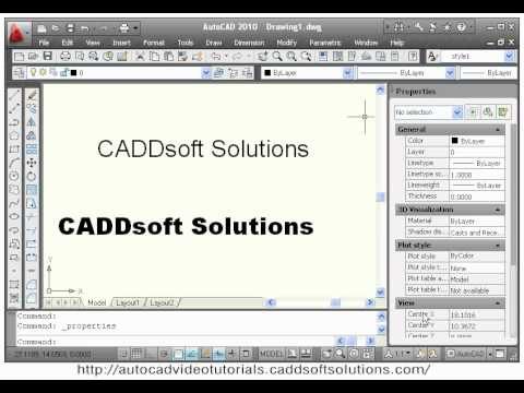 AutoCAD Text Command Tutorial Text Size Text Style Text Scale