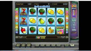 Как выиграть в казино Вулкан. Как обмануть слот Fruit cocktail 2  ч 2