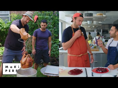 Brad and Andy Try to Make the Perfect Turkey & Cranberry Sauce | Making Perfect: Thanksgiving Ep 1