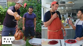 Download Brad and Andy Try to Make the Perfect Turkey & Cranberry Sauce | Making Perfect: Thanksgiving Ep 1 Mp3 and Videos