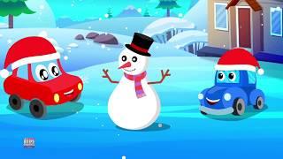 小雪花 | 孩子们的圣诞歌曲 | 为孩子们用英语押韵 | Little snow flakes in English | Kids Channel China