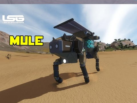 Space Engineers - Mule Transport Walker