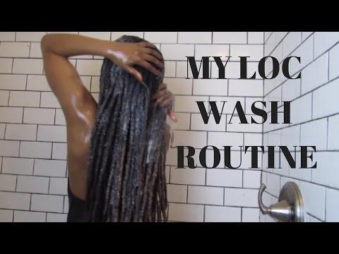 My Loc Wash Routine