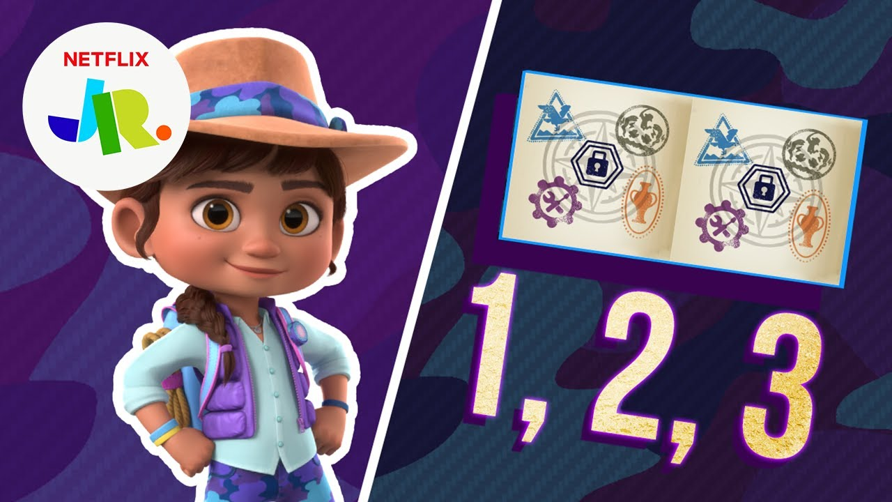 Museum Counting Game For Kids 🧐   Ridley Jones   Netflix Jr