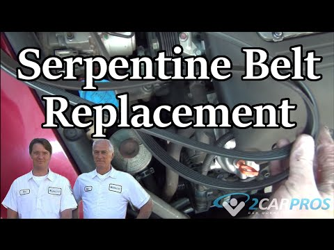 how to fix squeaky belts on a car