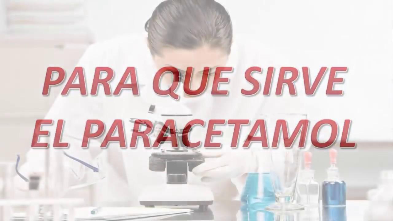 Para Que Sirve El Paracetamol - YouTube