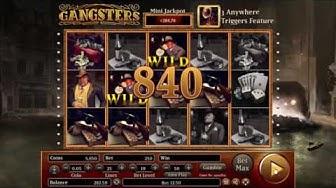"New Slot ""Gangsters"" + bonuses"