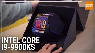 Intel Core i9-9900KS - unboxing