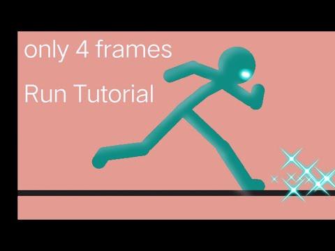 Simple 4 Frame Run Tutorial | Sticknodes