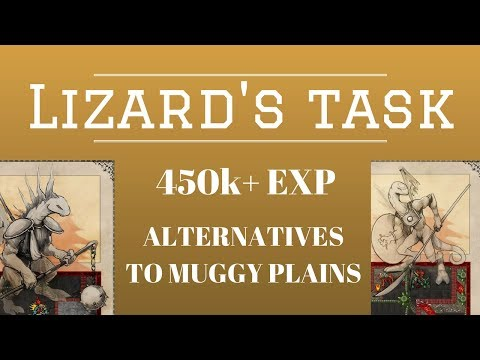 [Tibia, Where to Hunt] Alternative Spawns to Muggy Plains
