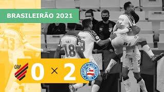 Атлетико Паранаэнсе  0-2  Баия видео