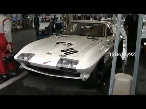 Chevrolet Corvette Stingray >> Chevrolet Corvette C2 Sting Ray with Side pipes - VERY LOUD revs and start up sound!! - YouTube