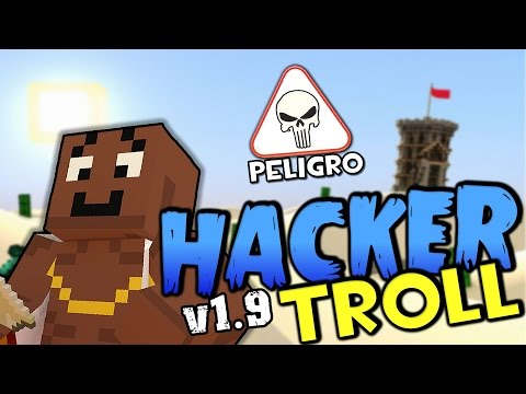 HACKER MINECRAFT AL MODO DIOS EN 1.9 | Minecraft Hunger Games