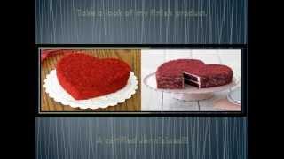Red Velvet Crumble Cake