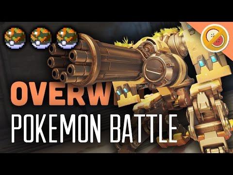 POKEWATCH #7 - THE SAFARI ZONE! Overwatch Custom Game Gameplay (Funny Moments)