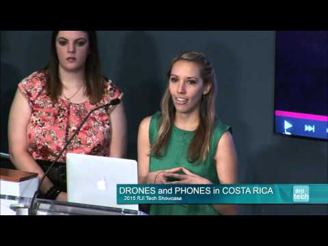 2015 RJI Tech Showcase: Drones and Phones in Costa Rica
