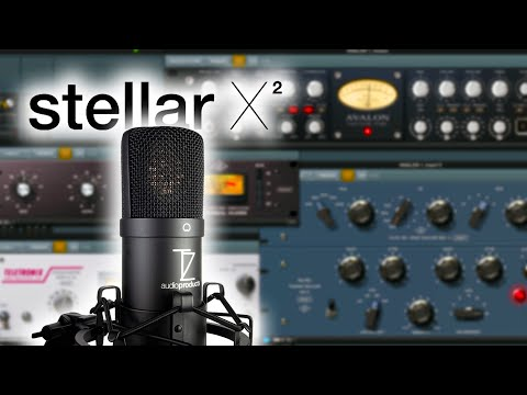 TechZone Stellar X2 Review + UAD Plugins For Voiceover (Avalon VT 737, Manley Voxbox, Pultec, Etc.)