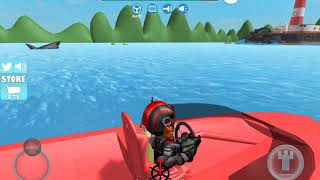 ROBLOX shark bite some secrets and other things