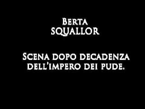 BERTA degli Squallor