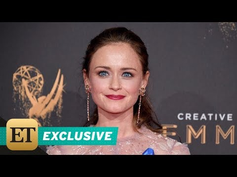 EXCLUSIVE: Alexis Bledel Tears Up Over 'Emotional' First Emmys Win: 'It's All the Feelings!'