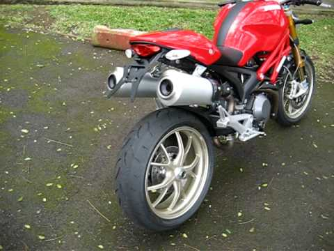 2009 Ducati Monster 1100 - YouTube