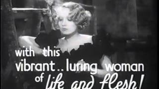 Trailer : The Song of Songs (1932)